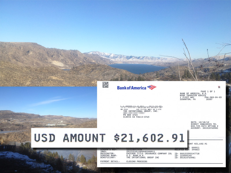 $21,602.91 in PROFIT... and check out the view!